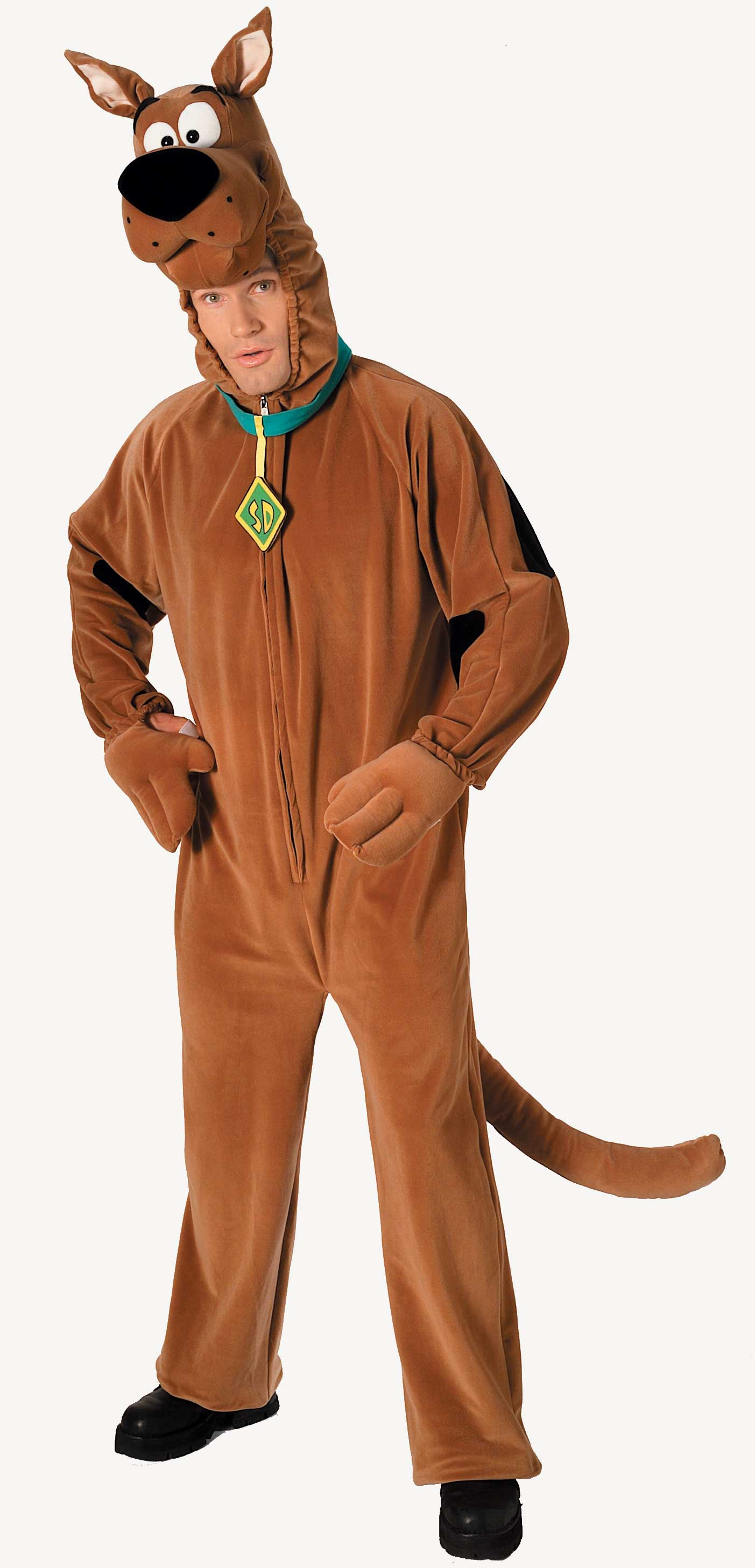 deluxe scooby doo adult costume mr costumes
