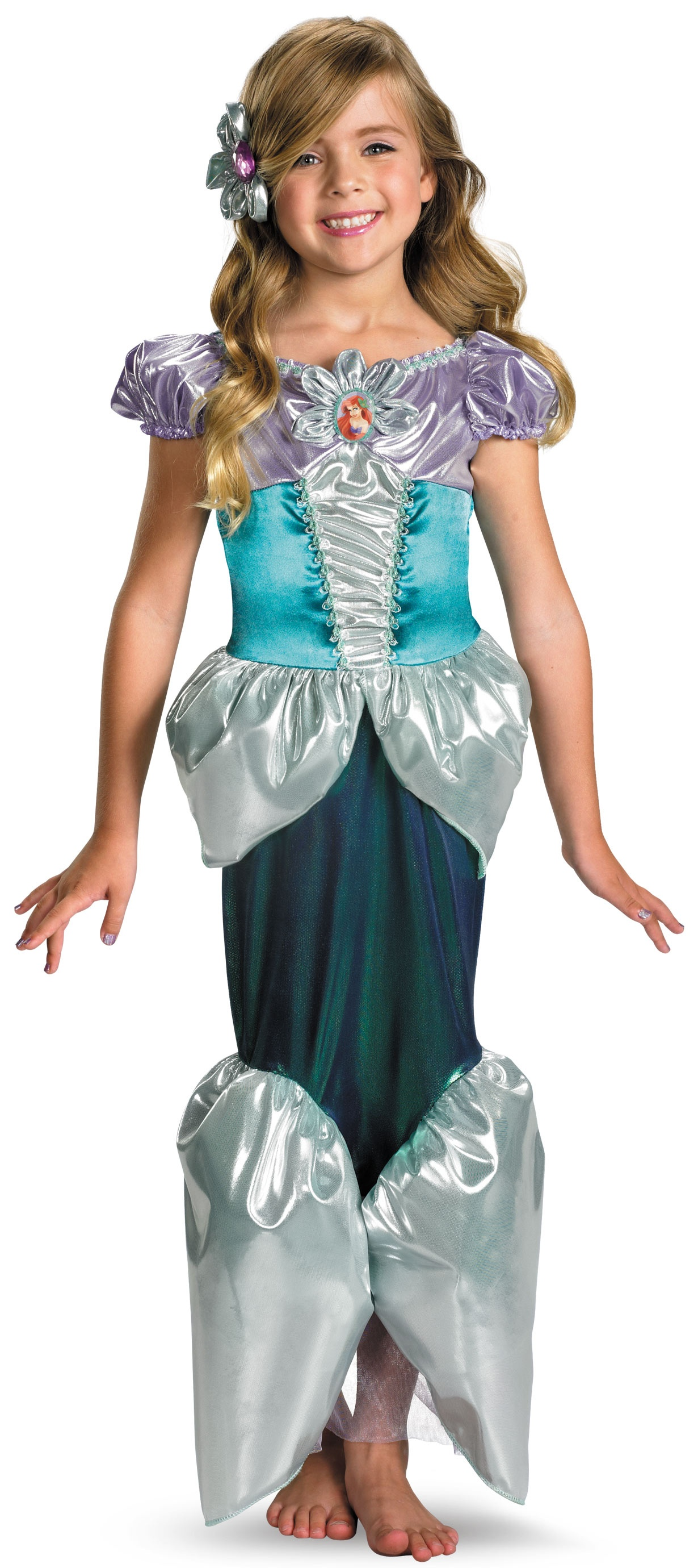 Kids Disney Princess Ariel Costume