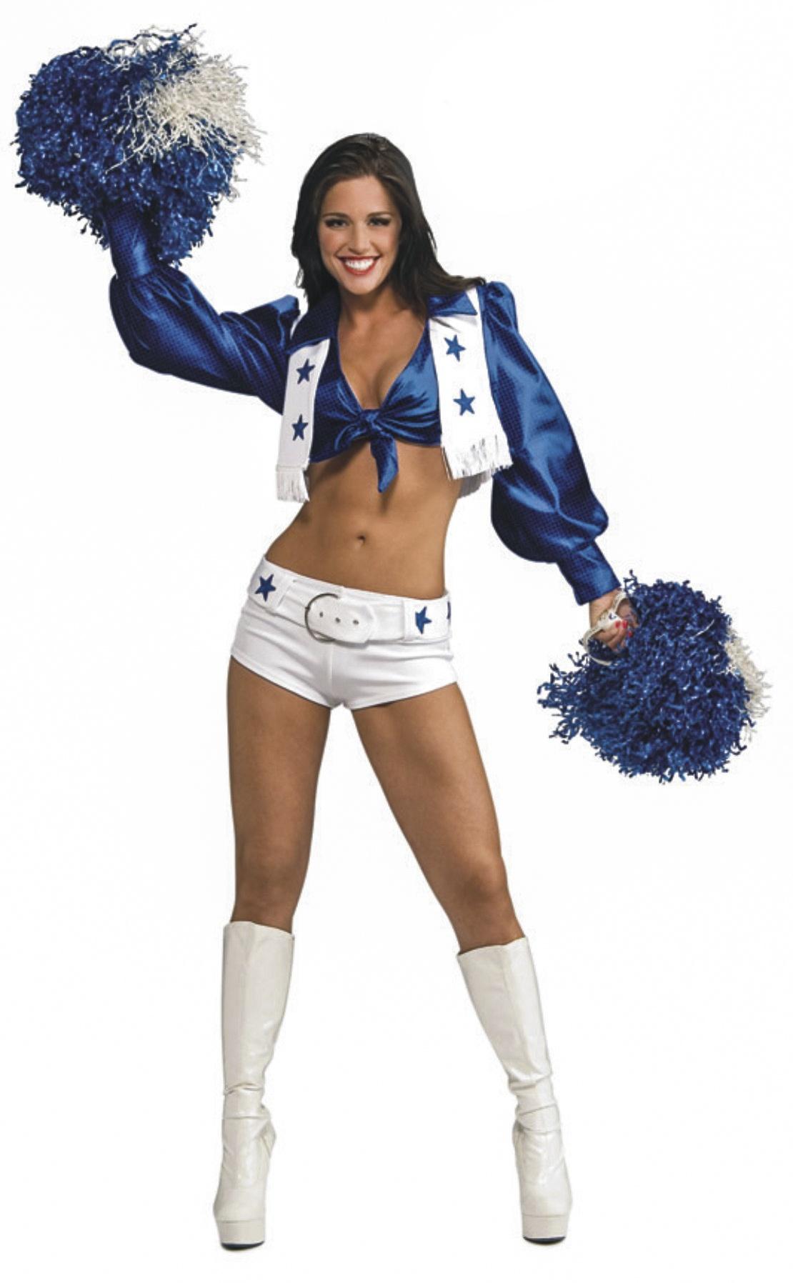 Dallas Cowboy Cheerleader Sexy Costume