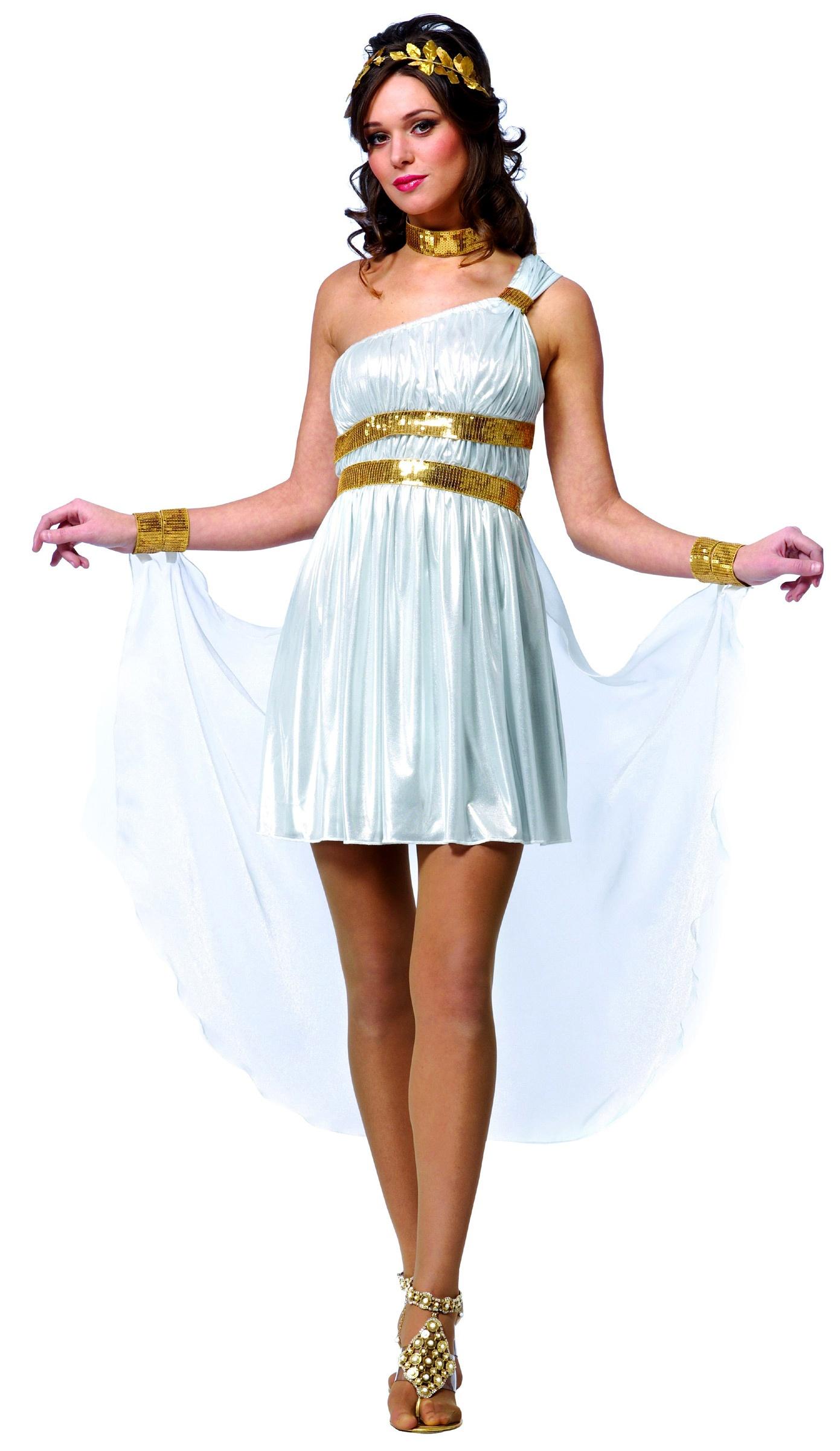 Костюмы греческих богинь своими руками