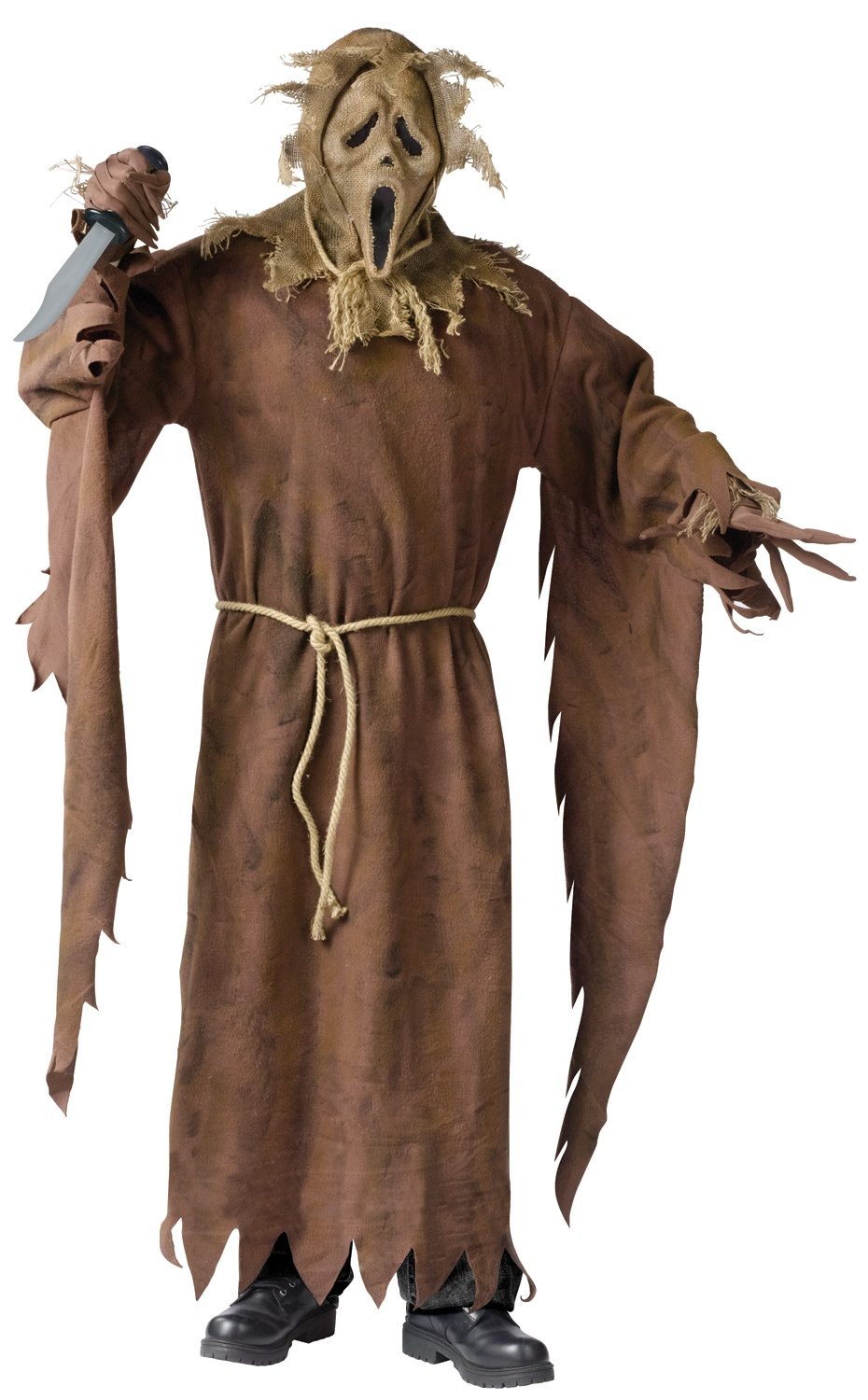 Home >> Scarecrow Costumes >> Scream Scarecrow Ghost Adult Costume