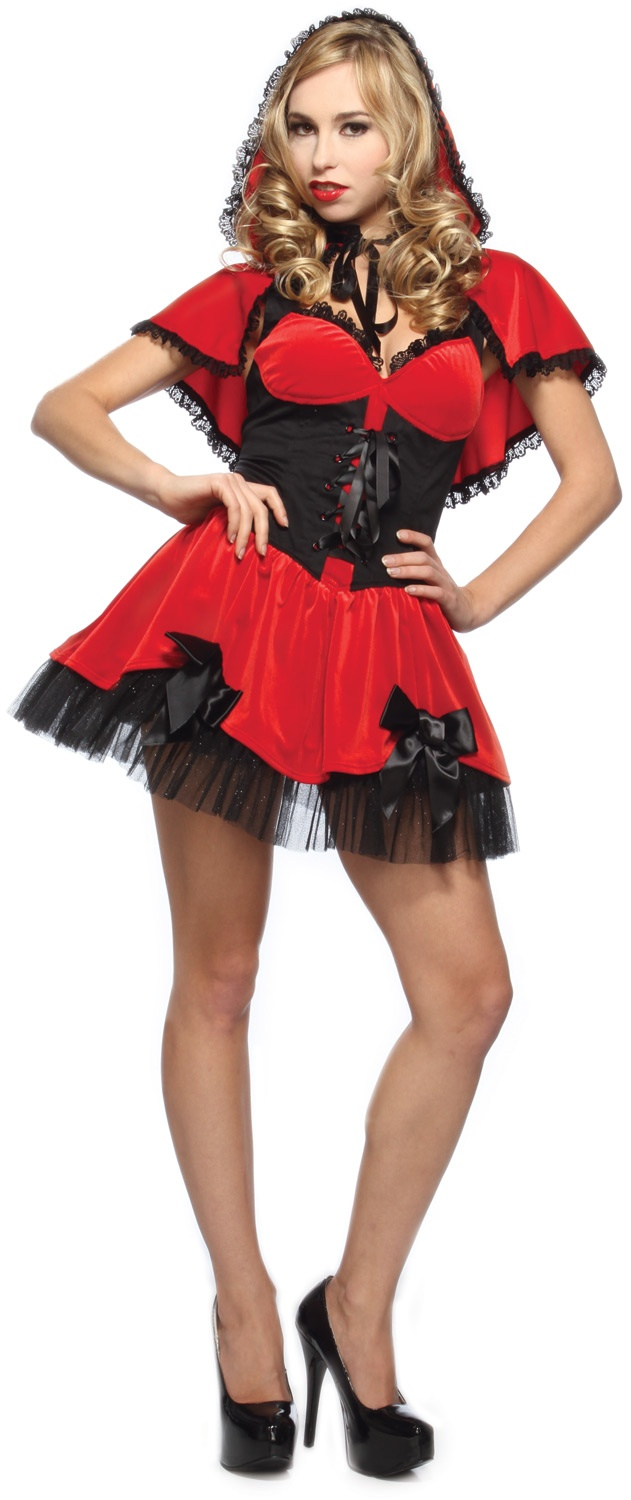 Sexy red riding hood costume picture 70