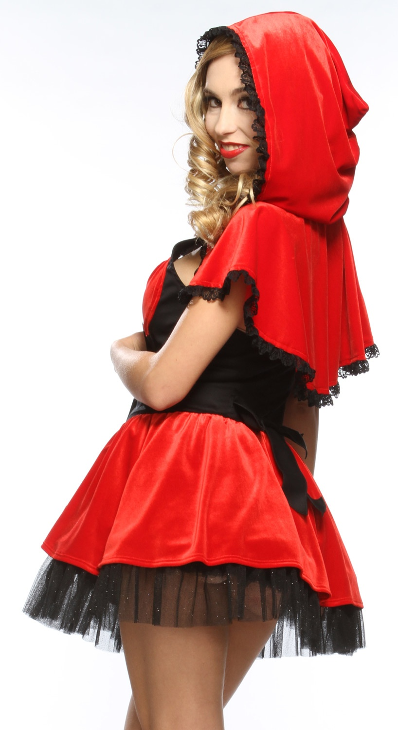 Sexy red riding hood costume picture 23