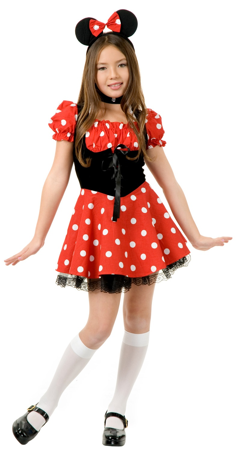 Little Miss Minnie Mouse Costume