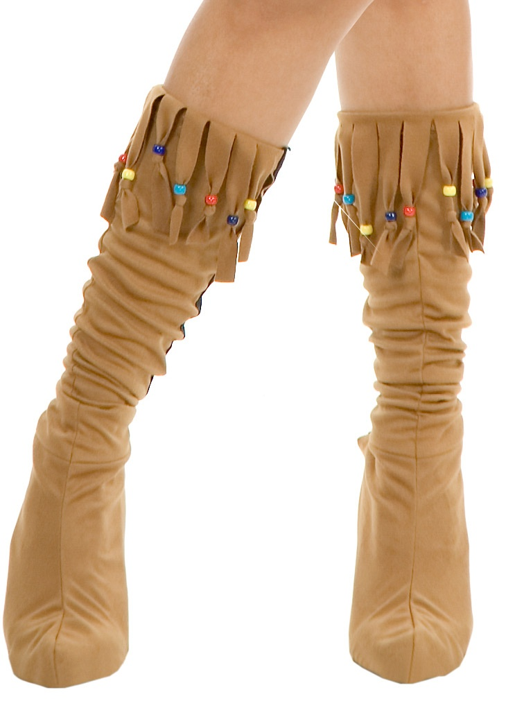 indian maiden suede boots mr costumes