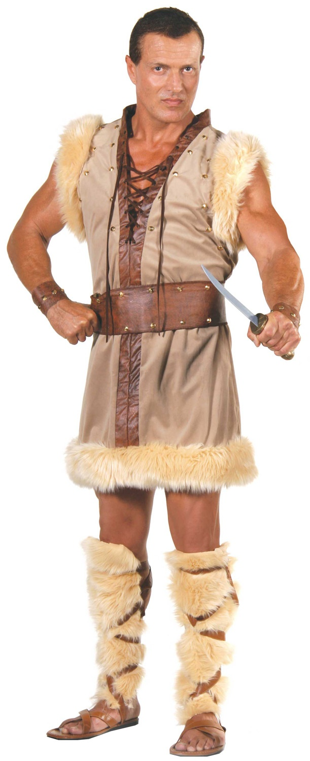 Mens Barbarian Viking Costume
