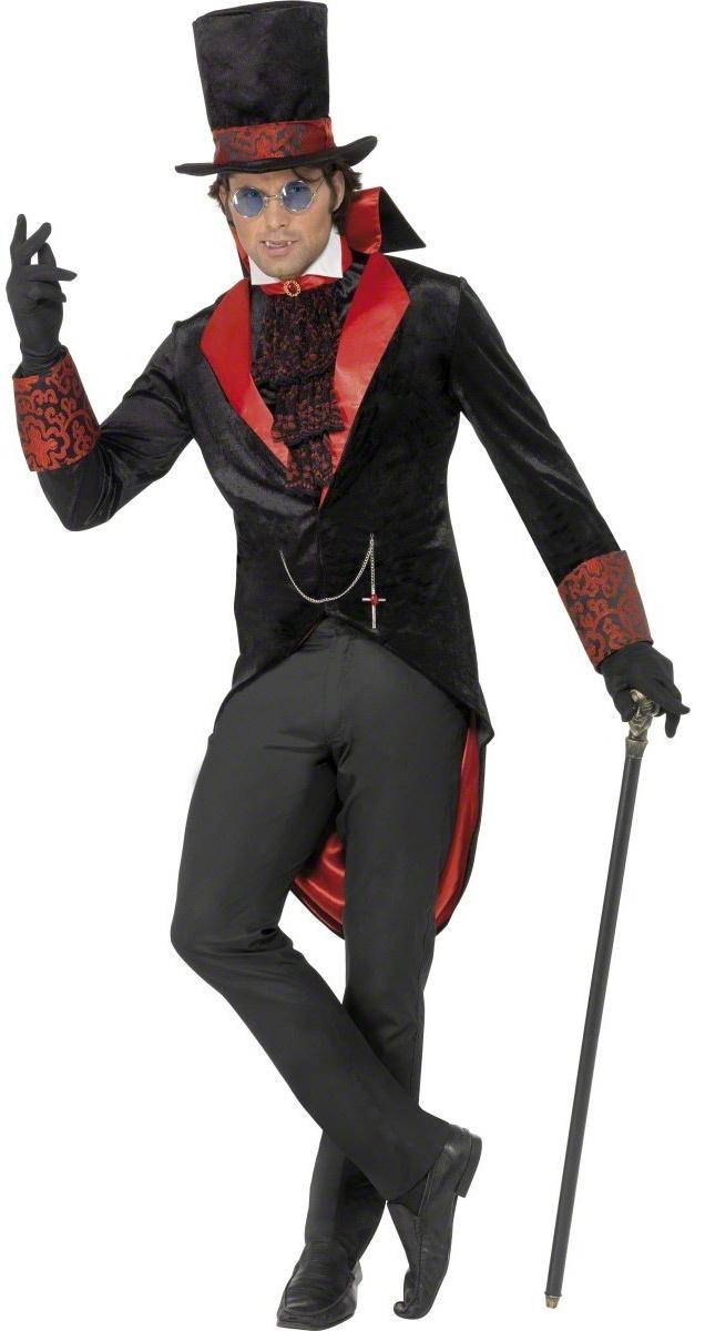 Home >> Dracula Costumes >> Mens Dracula Vampire Adult Costume