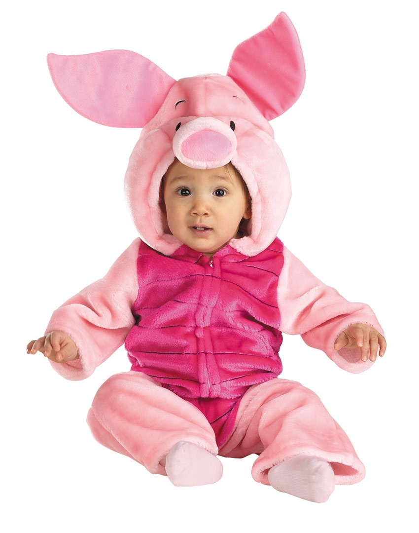 Piglet Plush Deluxe Baby Costume Costumes