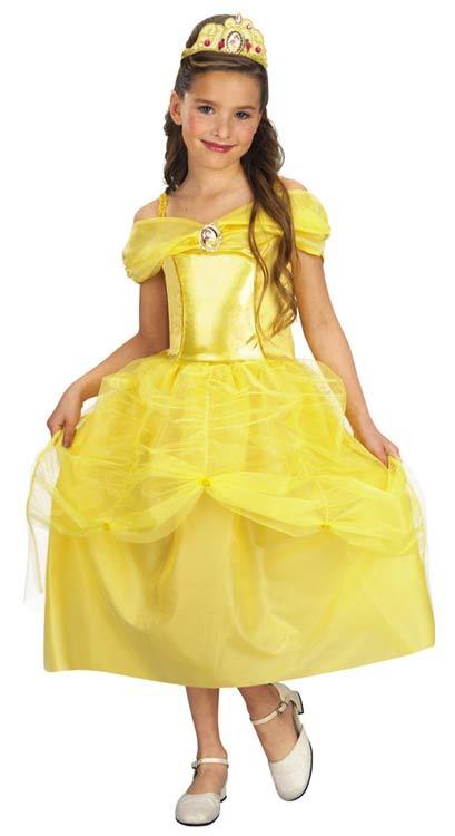 Belle Yellow Dress Costume