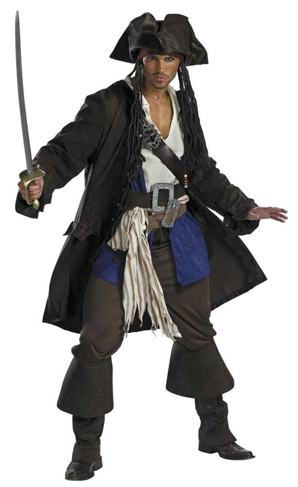 Captain Jack Sparrow Prestige Premium  Child