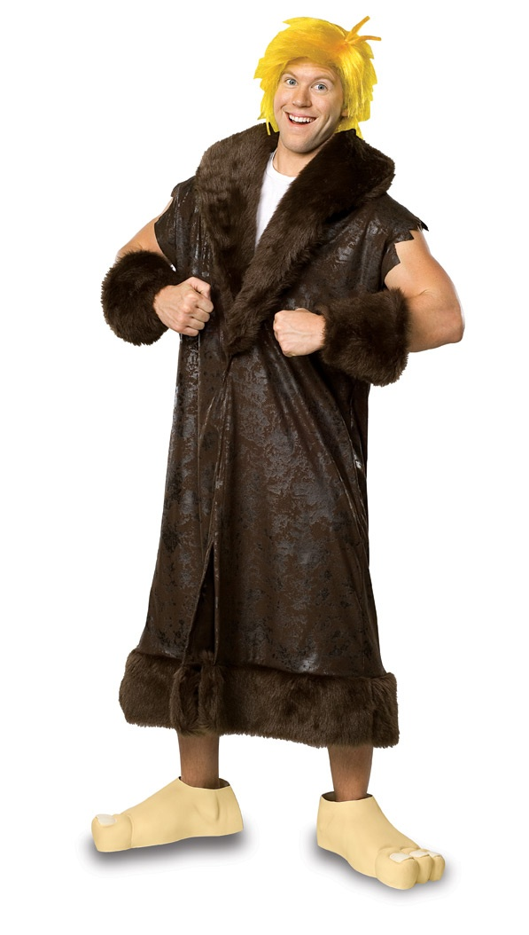 Flintstones Barney Rubble Adult Costume. Flintstones Costumes