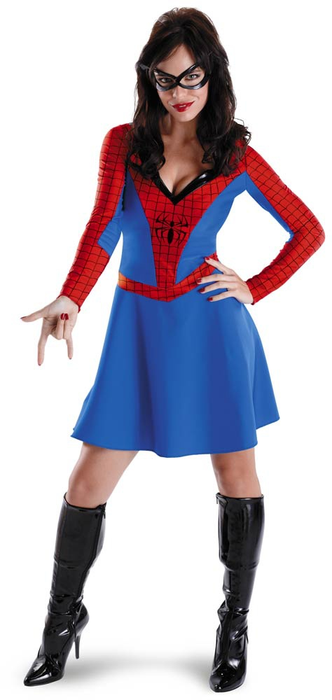 50350 spider girl costume Adult Black suited Spider Girl Costume. Give a Product Review
