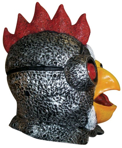 4313 Robot Chicken mask 3 Adult Swim Robot Chicken Funny Mask. Halloween Masks