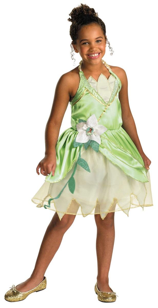 Girls Disney Princess Frog Tiana Costume