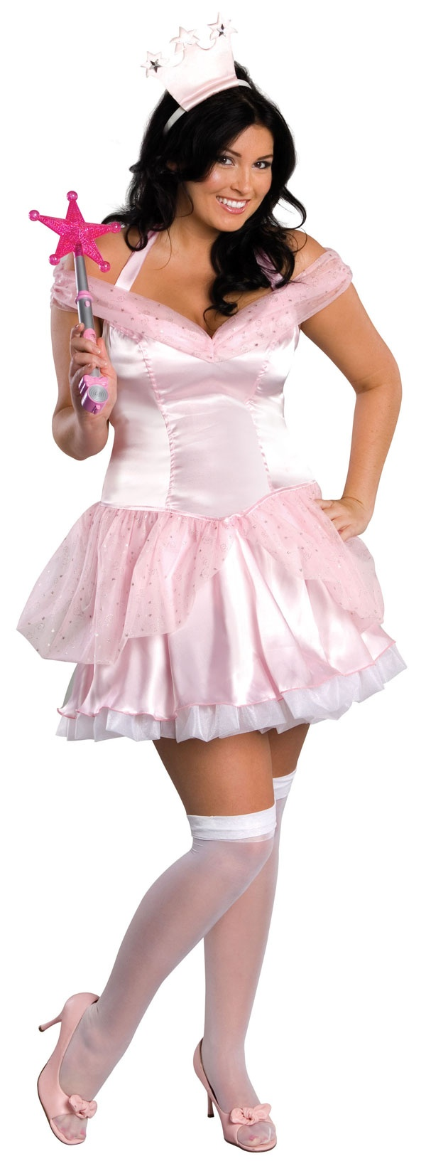 Secret Wishes Glinda the Good Witch Plus Size Costume