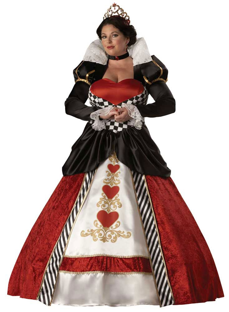 Queen Hearts Plus Costume Costumes
