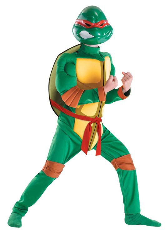 One of your favorite teenage mutant ninja turtle costumes for Halloween fun