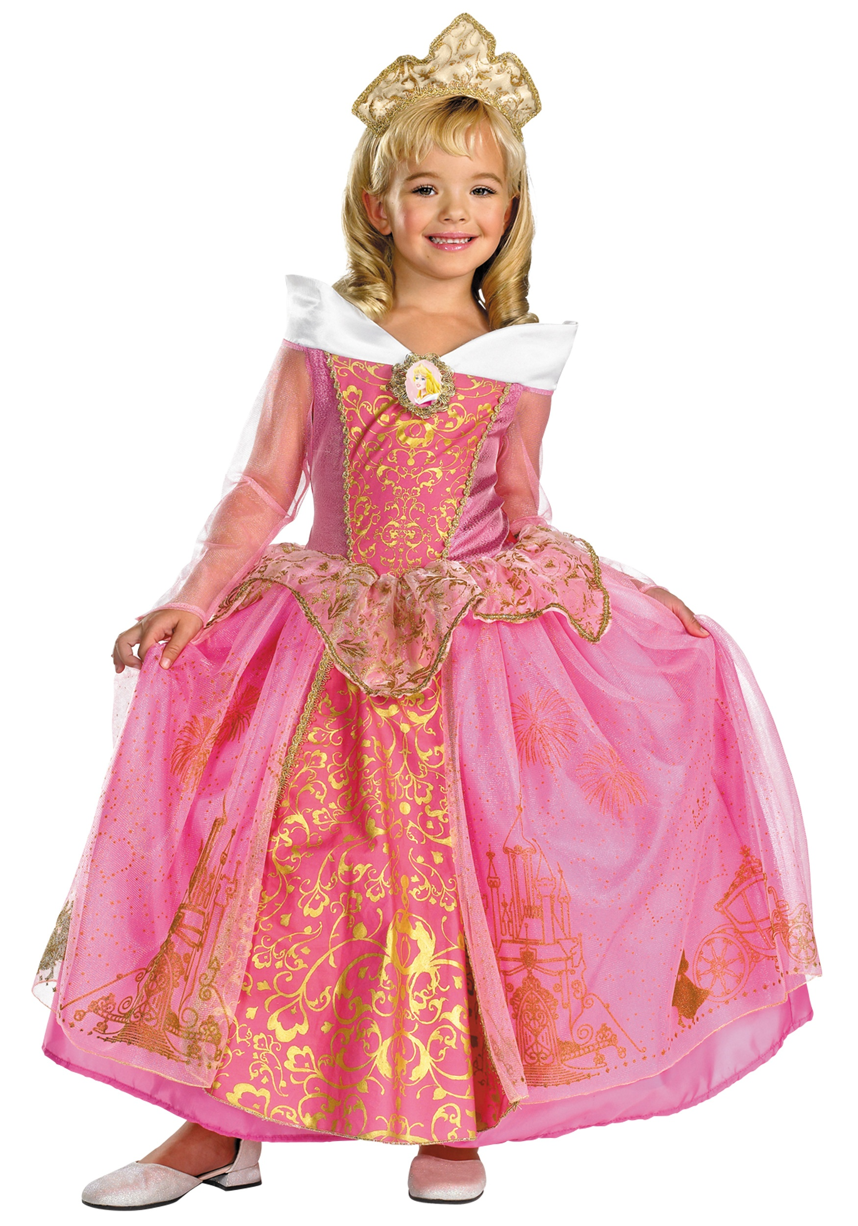 kids prestige disney princess aurora costume mr costumes. Black Bedroom Furniture Sets. Home Design Ideas