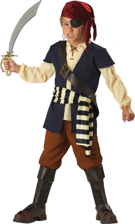 Boys pirate mate kids costume mr costumes - Monsieur pirate ...