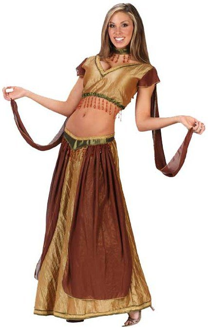 Not despond! adult belly dancer costumes are
