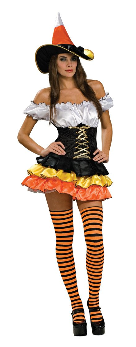 candy corn witch costume adults