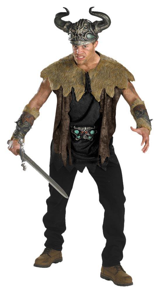 Mens Deluxe Adult Nordic Viking Costume Mr Costumes