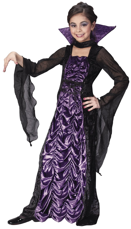 Countess of Darkness Vampire Kids Costume - Mr. Costumes