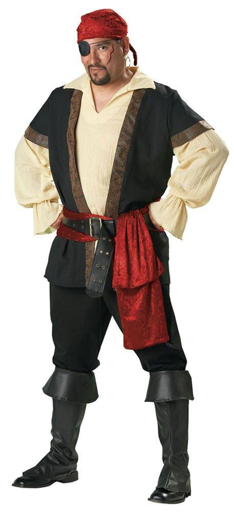 Plus size mens elite pirate costume mr costumes - Monsieur pirate ...