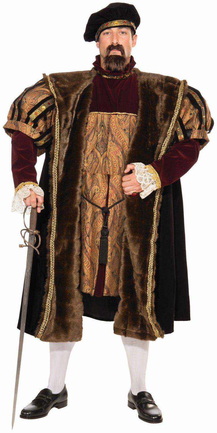 King Henry Viii Renaissance Adult Costume Mr Costumes