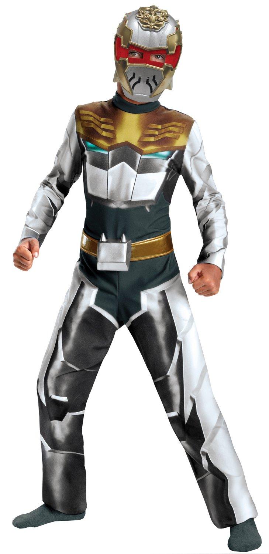 Robo knight megaforce power ranger kids costume mr costumes - Robot power rangers megaforce ...