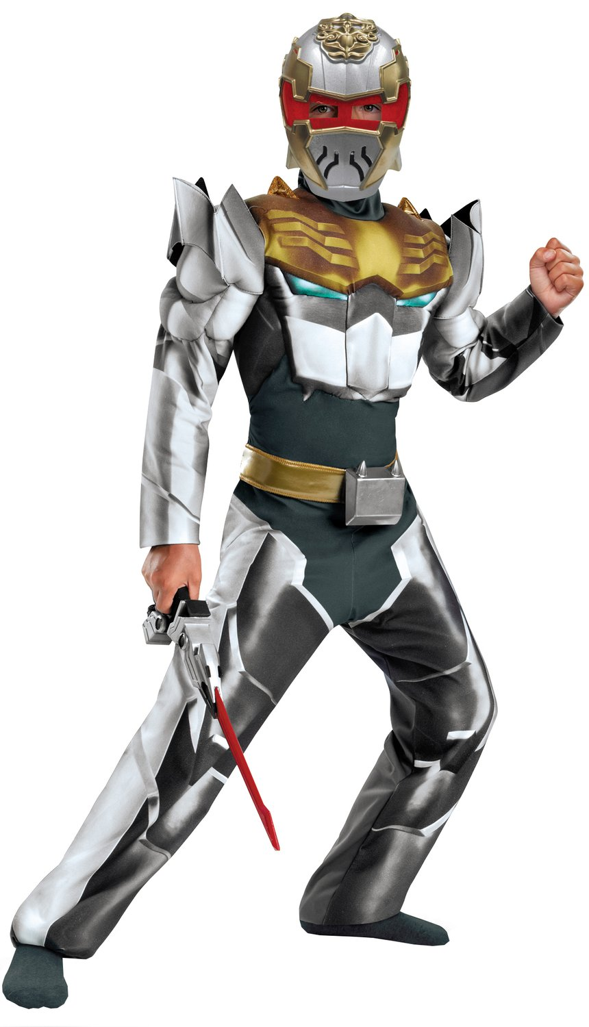 Robo Knight Muscle Chest Megaforce Kids Costume Mr Costumes
