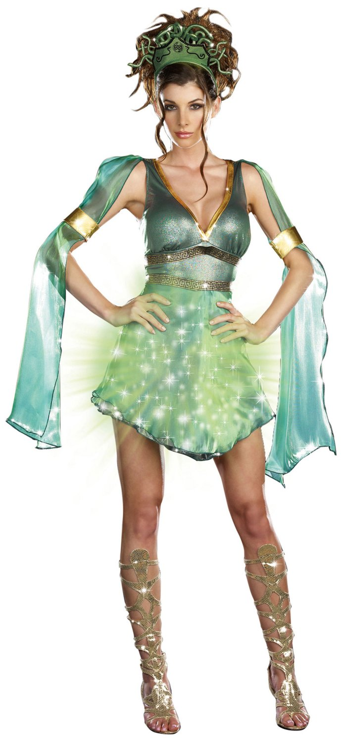 Sexy Mythical Medusa Light Up Costume Mr Costumes