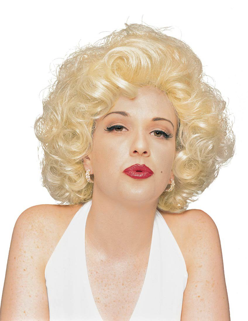 adult marilyn monroe costume wig mr costumes. Black Bedroom Furniture Sets. Home Design Ideas