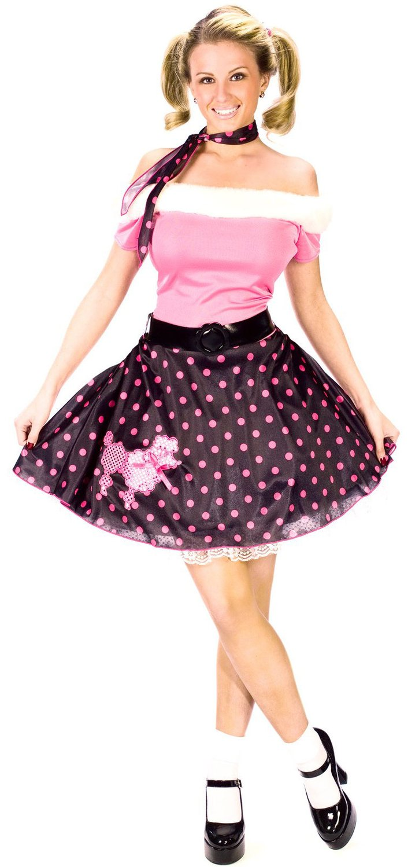 Poodle Skirt 50s Costume Jpg