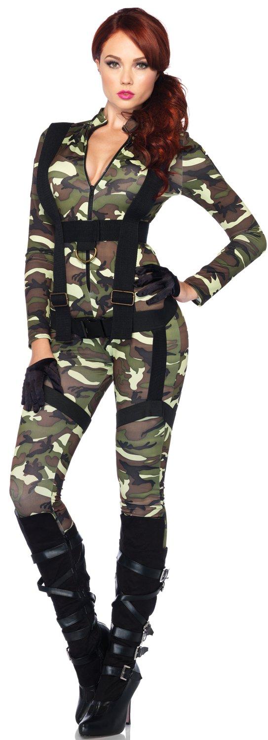 Sexy Pretty Paratrooper Military Costume - Mr. Costumes