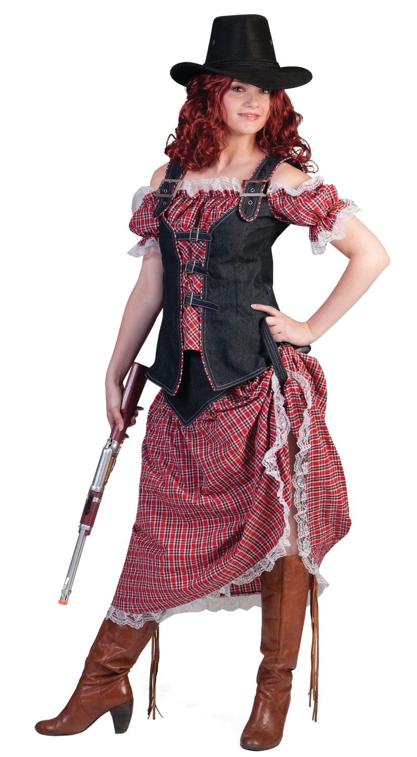 Cowgirl Camille Adult Costume - Mr. Costumes