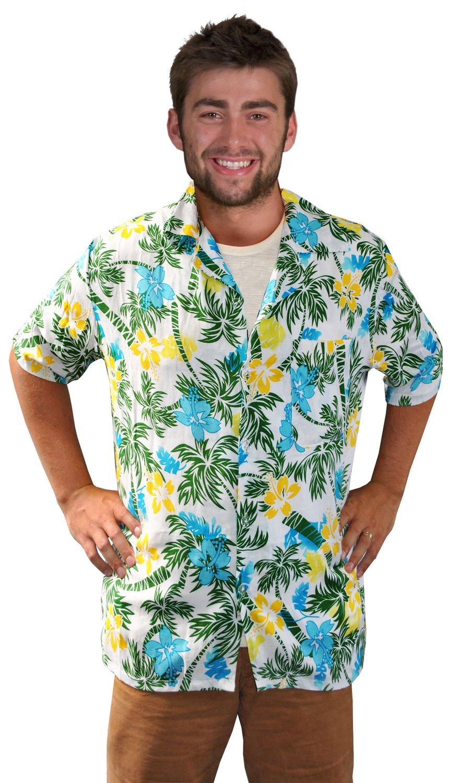 Funny Hawaiian Tourist Shirt Adult Costume - Mr. Costumes