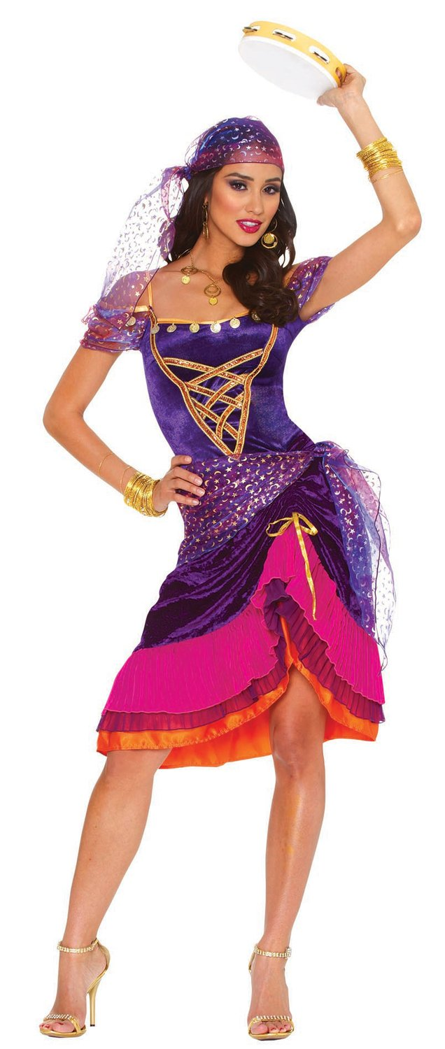 ... Sexy Mystical Gypsy Costume - Mr. Costumes ...  sc 1 th 215 & Image Gallery of Hot Gypsy Girl