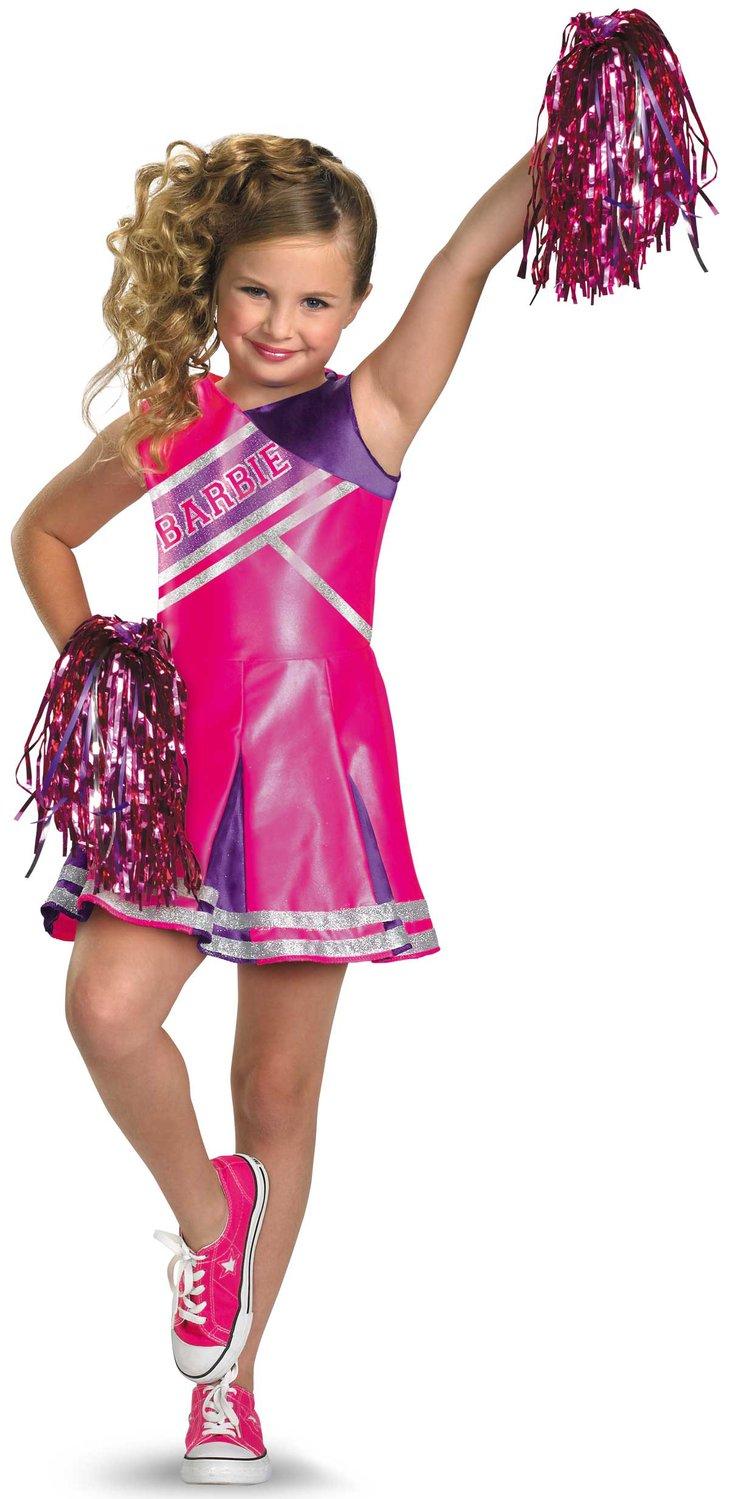 Girls Cheerleader Barbie Kids Costume Mr Costumes