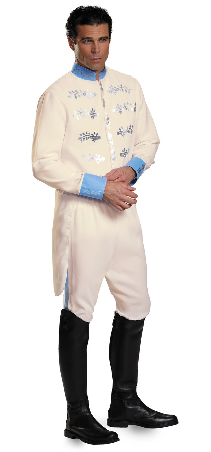 Prince Charming Deluxe Adult Costume - Mr. Costumes