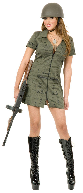 Army Girl Costume Pants