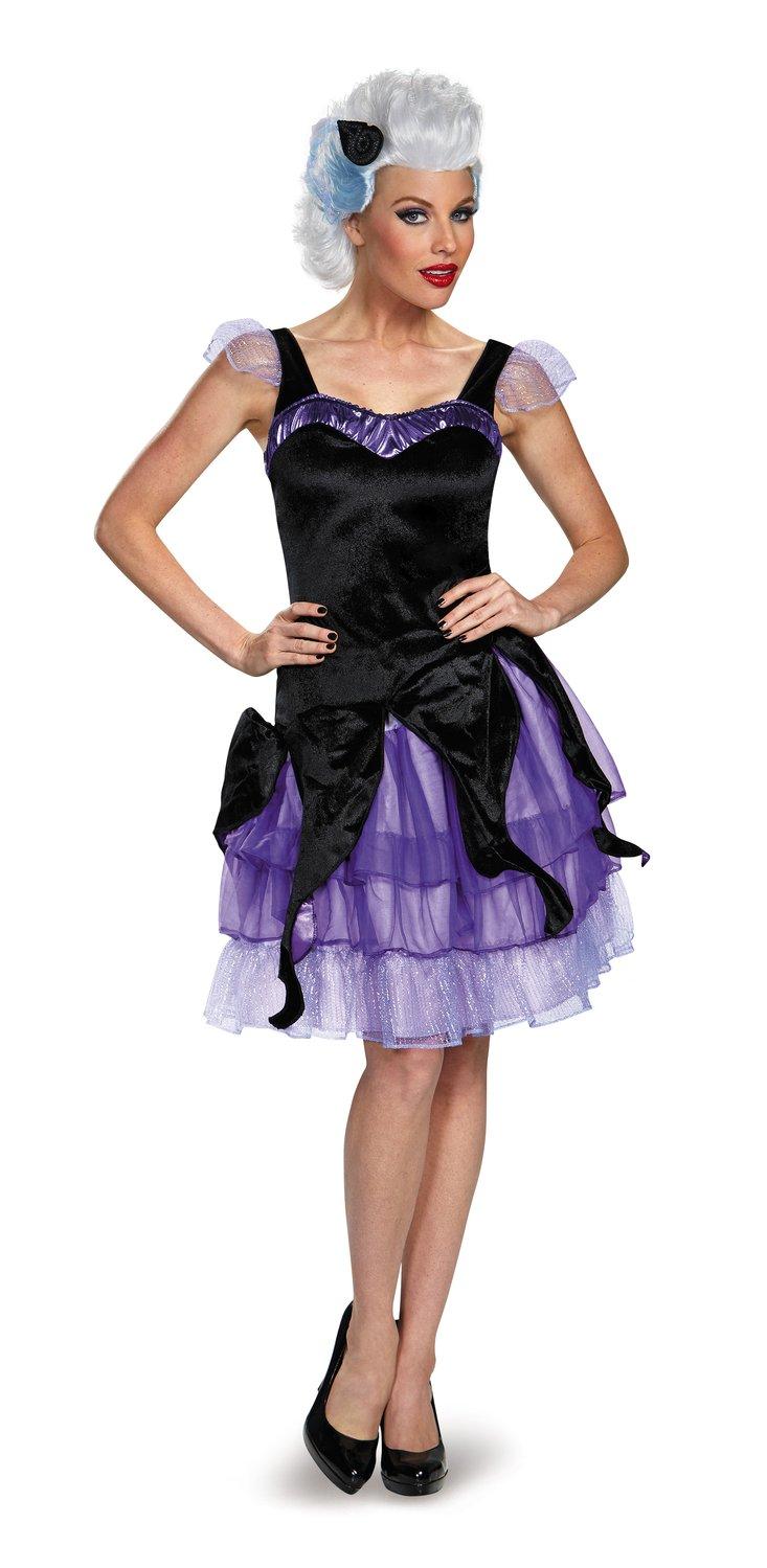 Ursula Deluxe Little Mermaid Adult Costume - Mr. Costumes