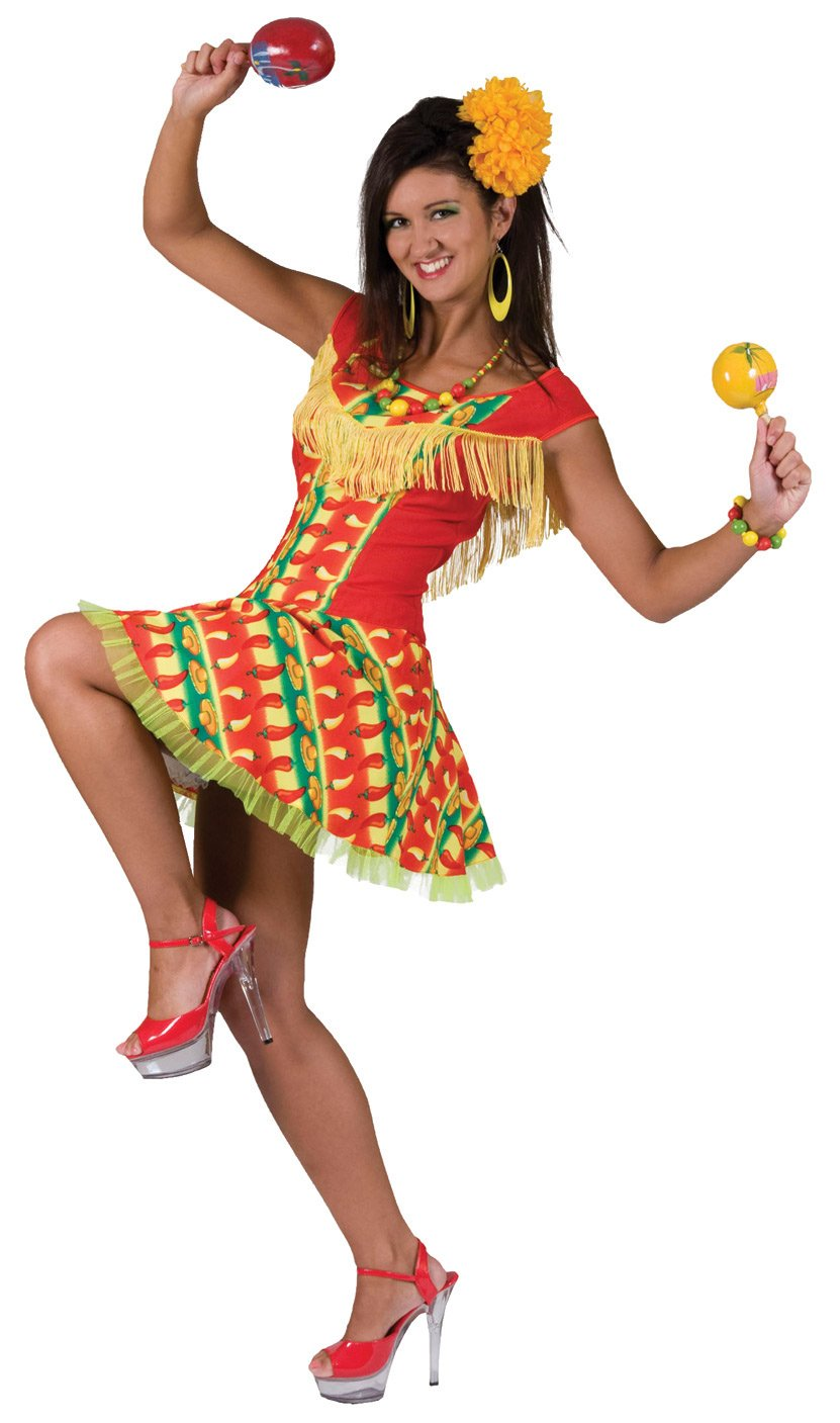 Womens Fiesta Dress Mexican Adult Costume Costumes