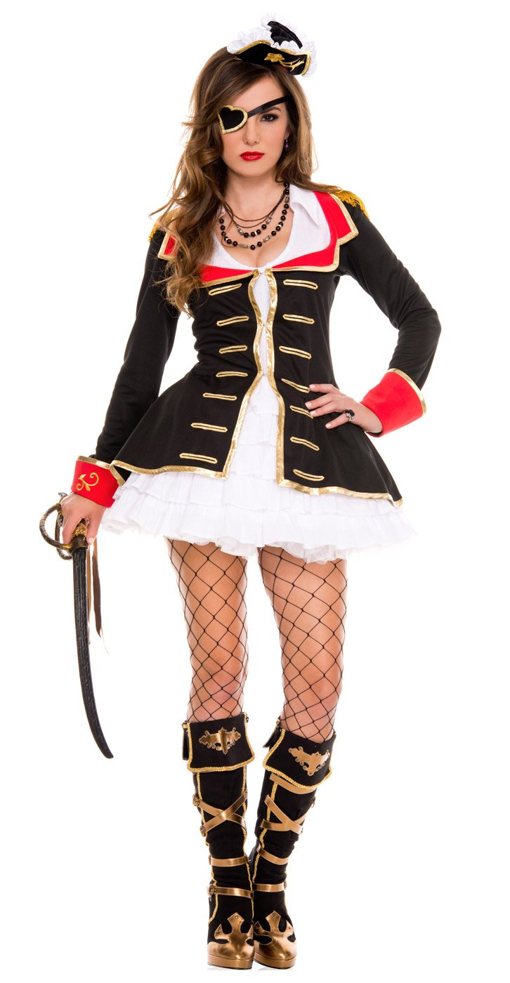 Sexy Cute Pirate Captain Costume Mr Costumes