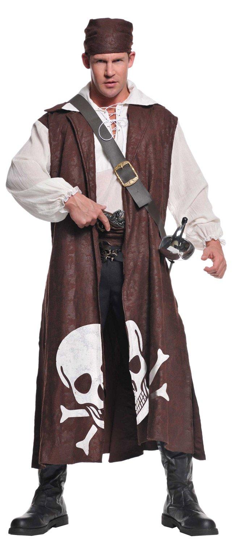 Mens Scavenger Pirate Adult Costume - Mr. Costumes