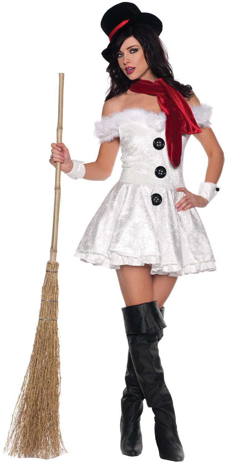 Sexy Snowed In Sweetie Costume - Mr. Costumes