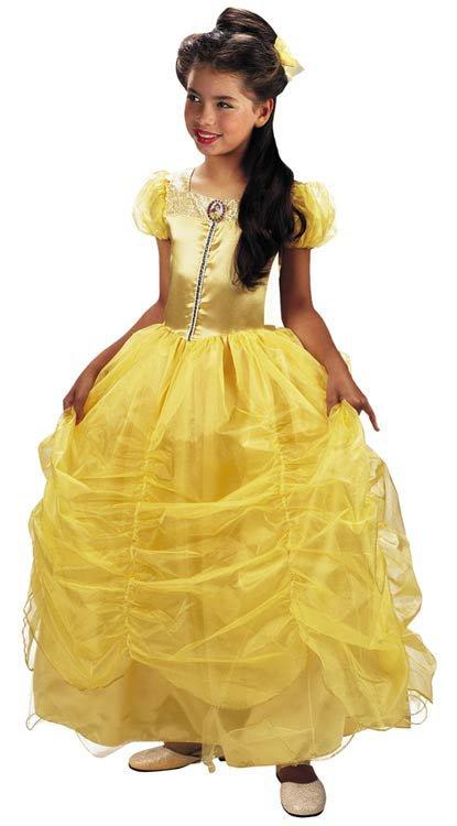 Kids Prestige Disney Princess Belle Costume Mr Costumes