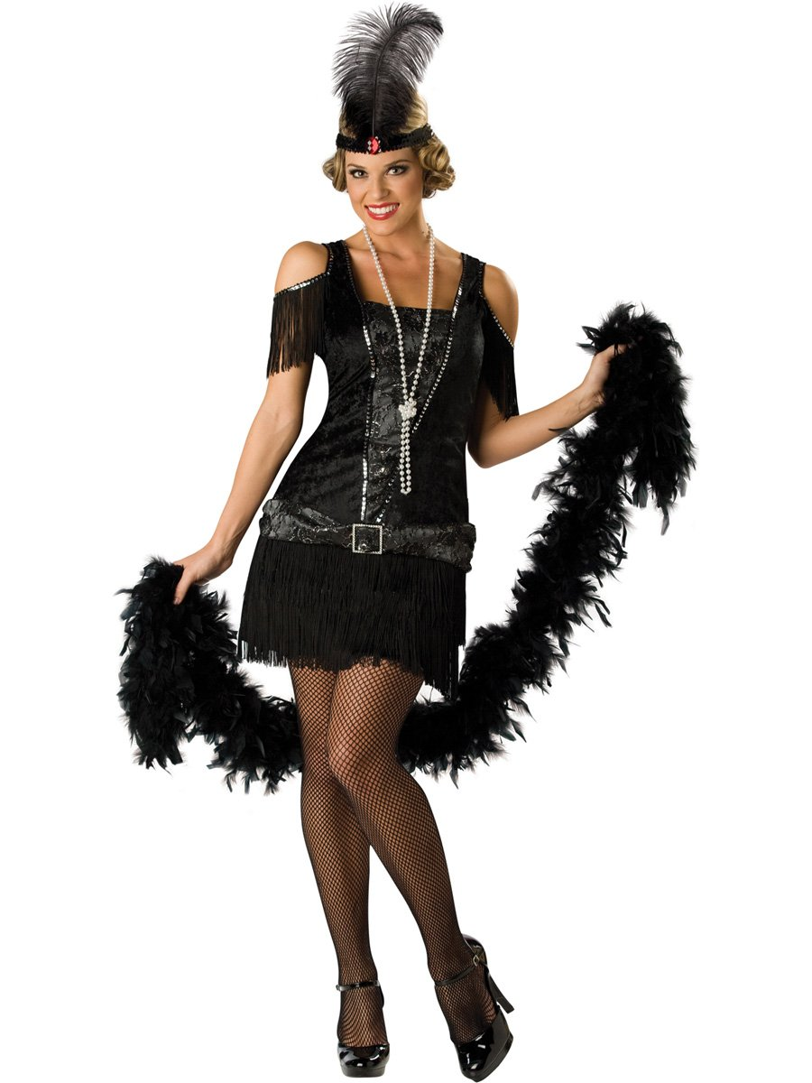 Fabulous Flapper Dress Adult Costume - Mr. Costumes