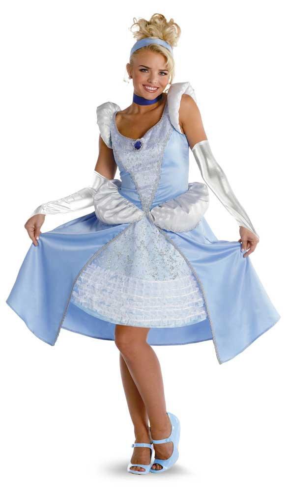Sassy Adult Disney Princess Cinderella Costume Costumes