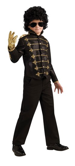 Kids Deluxe Michael Jackson Bad Costume